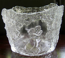 RHAPSODY BY KOSTA BODA Sweden Decorative Bowl, Design by Kjell Engman