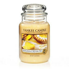 Yankee Candle - BANANA CREAM PIE - 22 oz - Great Food & Spice Scent!! -  RARE!!!