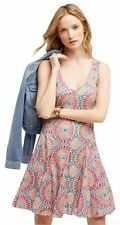NWT Anthropologie South Island Printed Dress, HD In Paris/ Size 6