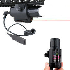 Tactical Q5 LED Flashlight Red Laser Sight Combo for Picatinny Rifle Handgun