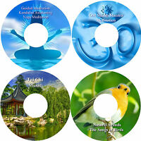 Peace & Harmony Relaxation 4 CD Collection Healing Stress Relief Help Sleep Calm