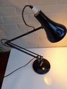 Vintage Herbert Terry ANGLEPOISE Type 90 Modified Black Working