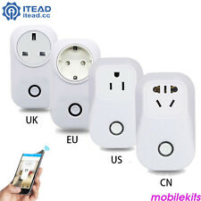 Sonoff ITEAD S20 WiFi Smart Remote Control Socket EU Standard Home Automation MS