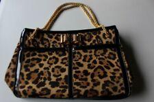 CHRISTIAN LOUBOUTIN sac a main imprimé léopard grand modèle  (33274)