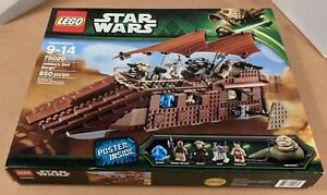 LEGO STAR WARS SET Jabba's Sail Barge #75020 - New - Sealed in Box! Retired!