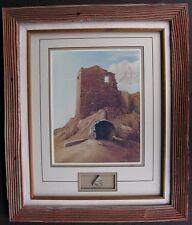 Cameron Blagg Lmt. Ed. 1993 Print 187/250 Wupatki Pueblo Ruins Pottery Arizona