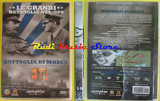 DVD film BATTAGLIA DI MOSCA Le grandi battaglie del 900 SIGILLATO SEALED no (D2)
