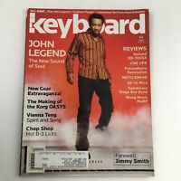 Keyboard Magazine April 2005 John Legend & Vienna Teng & Farewell Jimmy Smith