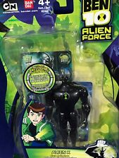 "New - ALIEN X - 4"" Ben 10 ALIEN FORCE Action Figure TRADING CARD Bandai #27455"