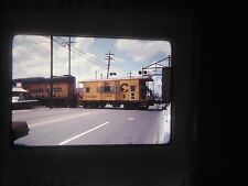 Original Slide train New York Rochetser B&O Lyell Mt Read Chessie 6934 caboose