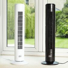 """REFURBISHED Neo 29"""" Inch Air Cooling Free Standing Tower Fan 3 Speed Oscillating"""