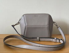 DKNY Taupe Leather Small Crossbody Bag