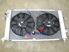 FOR Opel Vauxhall Astra VXR Z20LEH Turbo Engine Alloy Aluminum Radiator & FANS
