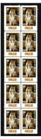 COLLIE DOG MANS BEST FRIEND STRIP OF 10 MINT VIGNETTE STAMPS #5