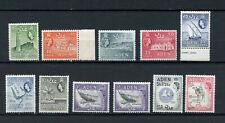Aden QEII 1953-1963 Partial set VF Mnh og thru 2 Shilling SG 48/72