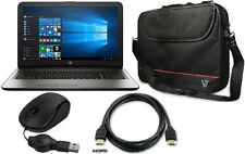 HP 15-ay192nr Laptop Bundle Case HDMI Mini Mouse WebCam Silver Warranty New