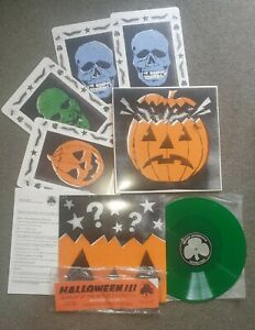 Halloween 3 Season Of The Witch Vinyl Mondo Deathwaltz Green John Carpenter ost