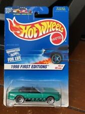 1998 Hot Wheels First Edition Jaguar XK8 #639 with ERROR