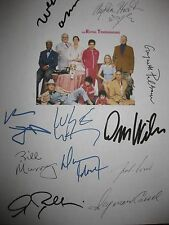 The Royal Tenenbaums Signed Script Bill Murray Luke Owen Wilson Wes Anderson RPT