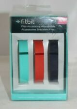 New Fitbit Flex Accessory Wristbands 3 Bands - Size S/P - Navy / Blue / Red NIP