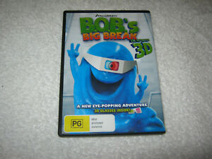 Bob's Big Break in Monster 3D - DVD - R4