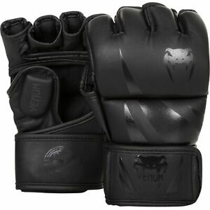 VENUM CHALLENGER FINGERLESS MMA GLOVES WITH THUMB - VARIOUS COLOURS AND SIZES