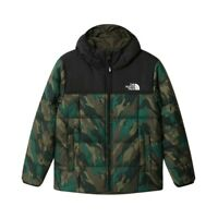 The North Face B Reversible Perrito Jacket Giacca Bambino NF0A4TJG TSR Evergreen