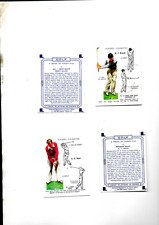 More details for golf  players reproduction cards full set 25 cards from 1939 issue mint