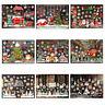 Christmas Window Clings Snowflake Reindeer Santa Claus Window Stickers