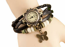 Vintage Retro Beaded Bracelet Style Wrist Watch with Free Belt worth Rs.100/-