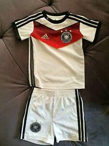 Original Deutschlandtrikot Adidas Fussballtrikot Deutschland Kinder Gr. 80