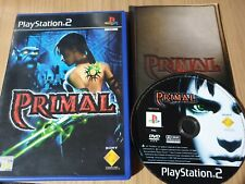 PRIMAL PS2 PLAYSTATION 2 GAME!  WITH MANUAL, PAL