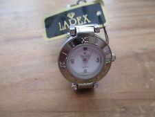 ladies larex quartz watch, hong kong made, modern used watch has tag