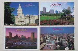 6 Brand New Postcards - Baltimore, Maryland USA
