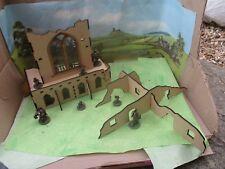28 MM Set gotica Chiesa Rovina 2 SCI-FI Admin costruzione paesaggio 40k edifici MDF