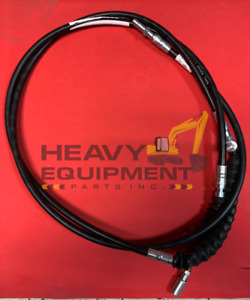 BACKHOE NEW HOLLAND 555E & 655E HAND-OPERATED & FOOT PEDAL-OPERATED CABLE 2400mm