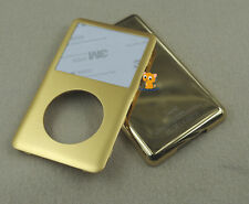Gold Front Faceplate Back Housing Case Cover for iPod 7th Classic Thin 160GB