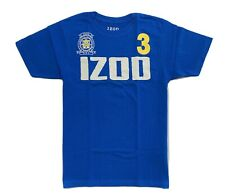IZOD BOYS SHIRT - LOGO FRONT SZ XLARGE 18 20 BLUE - TOP TEE SHIRT PRINTED KIDS