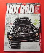 HOT ROD MAGAZINE MARCH/2015..THE MUSTANG BUILT TO BREAK UTUBE: EXCLUSIVE LOOK