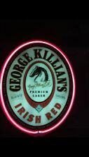 Large Killians Red Lighted Neon Sign