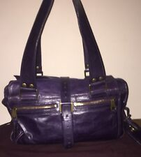 New listing💓100% GENUINE STUNNING💓MULBERRY BAG MABEL PURPLE LEATHER  IMPECCABLE CONDITION e5d082f94623d