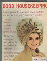 Good Housekeeping Magazine January 1968 Ronald Reagan Katharine Ross
