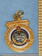 Life Member Pendant Veterans of Foreign Wars VFW National Home 1/10 10K GF