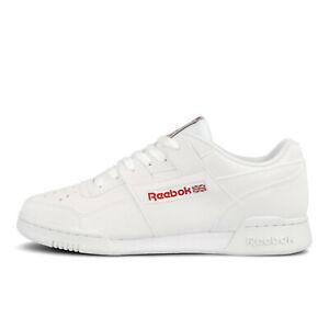 Men's Reebok Workout Mid Plus DV7238 Athletic Comfortable Sneakers reflective le