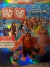 Wreck It Ralph 2 Breaks The Internet Blu-ray + DVD Canada w Slip Cover Art LOOK