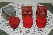 Avon Lot Of Three Fragranced Bayberry Candlettes W / Boxes