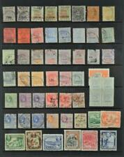 BRITISH GUIANA STAMPS SELECTION  ON LARGE STOCK CARD  (B59)