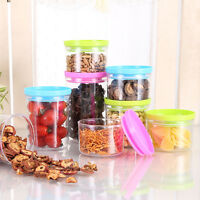 Kitchen Storage Box Container Plastic Sealed Food Cans Canister Jar Keep Fresh