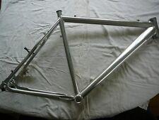 26er MTB Bicycle Silver Aluminium Alloy Disc Frame Mountain Bike Frames 15''