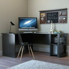 New listing L-Shaped Corner Desk Computer Gaming Desk Pc Table Writting Table Home Office Te